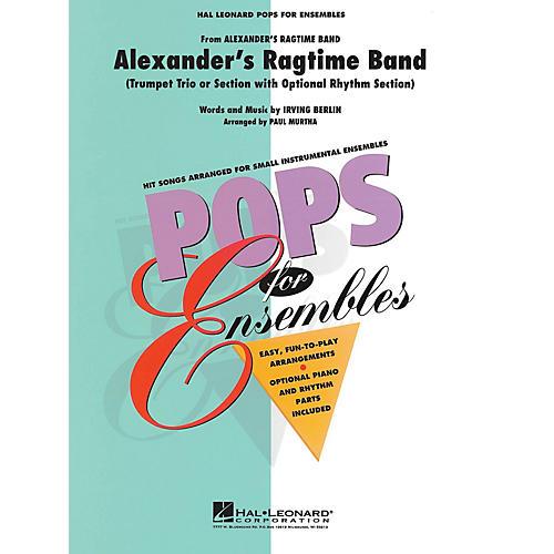 Hal Leonard Alexander's Ragtime Band Concert Band Level 2.5 Arranged by Paul Murtha thumbnail