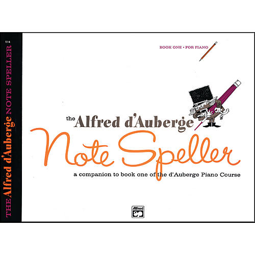 Alfred Alfred d'Auberge Piano Course Note Speller Book 1 thumbnail