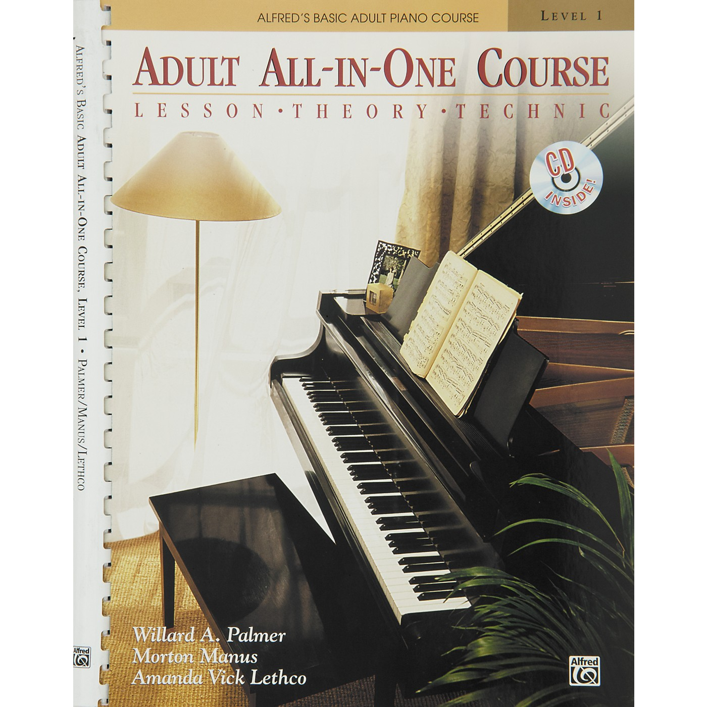 Alfred Alfred's Basic Adult All-in-One Course Book 1 Book 1 & CD thumbnail