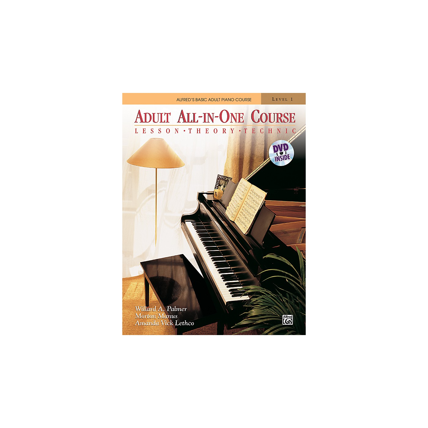 Alfred Alfred's Basic Adult All-in-One Course Book 1 & DVD thumbnail