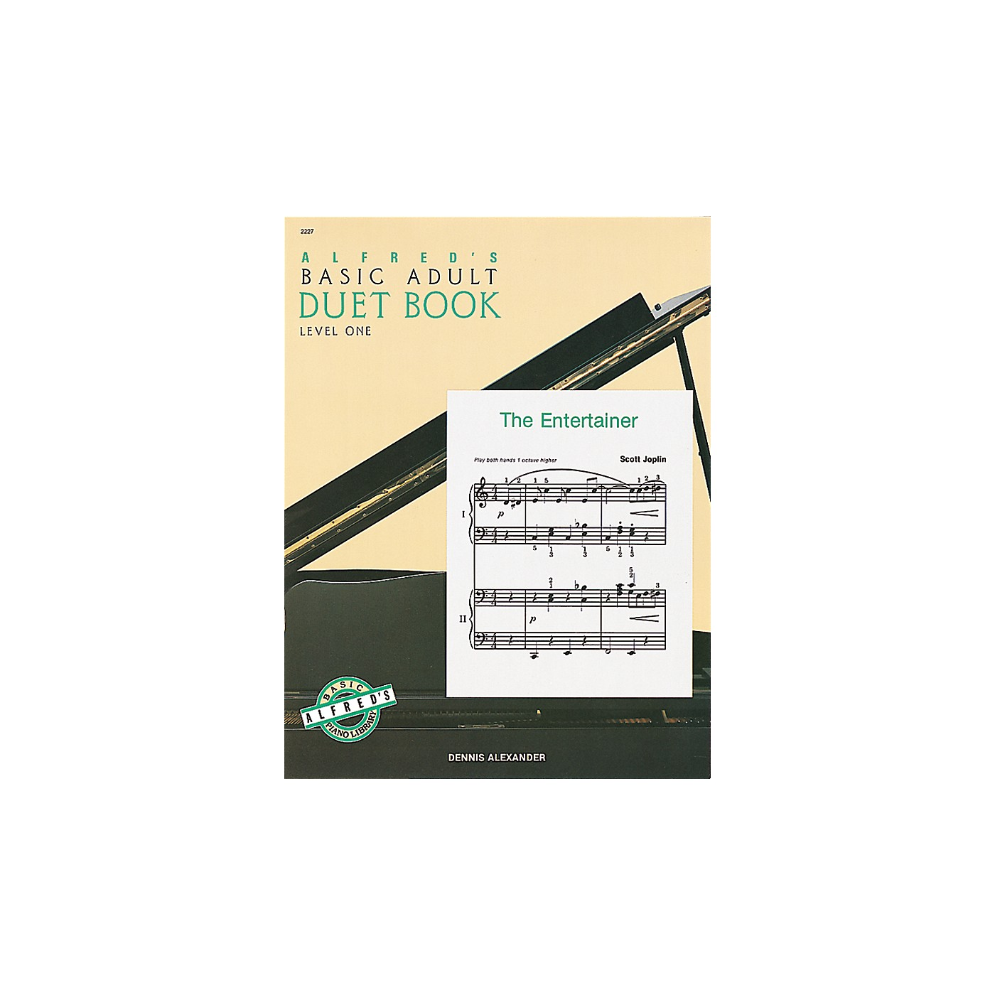 Alfred Alfred's Basic Adult Piano Course Duet Book 1 Book 1 thumbnail