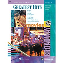Alfred Alfred's Basic Adult Piano Course Greatest Hits Book 3