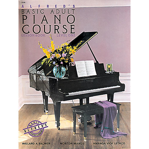 Alfred Alfred's Basic Adult Piano Course Lesson Book 1 thumbnail