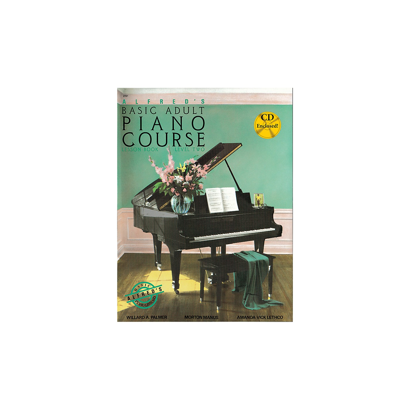 Alfred Alfred's Basic Adult Piano Course Lesson Book 2 Book 2 & CD thumbnail