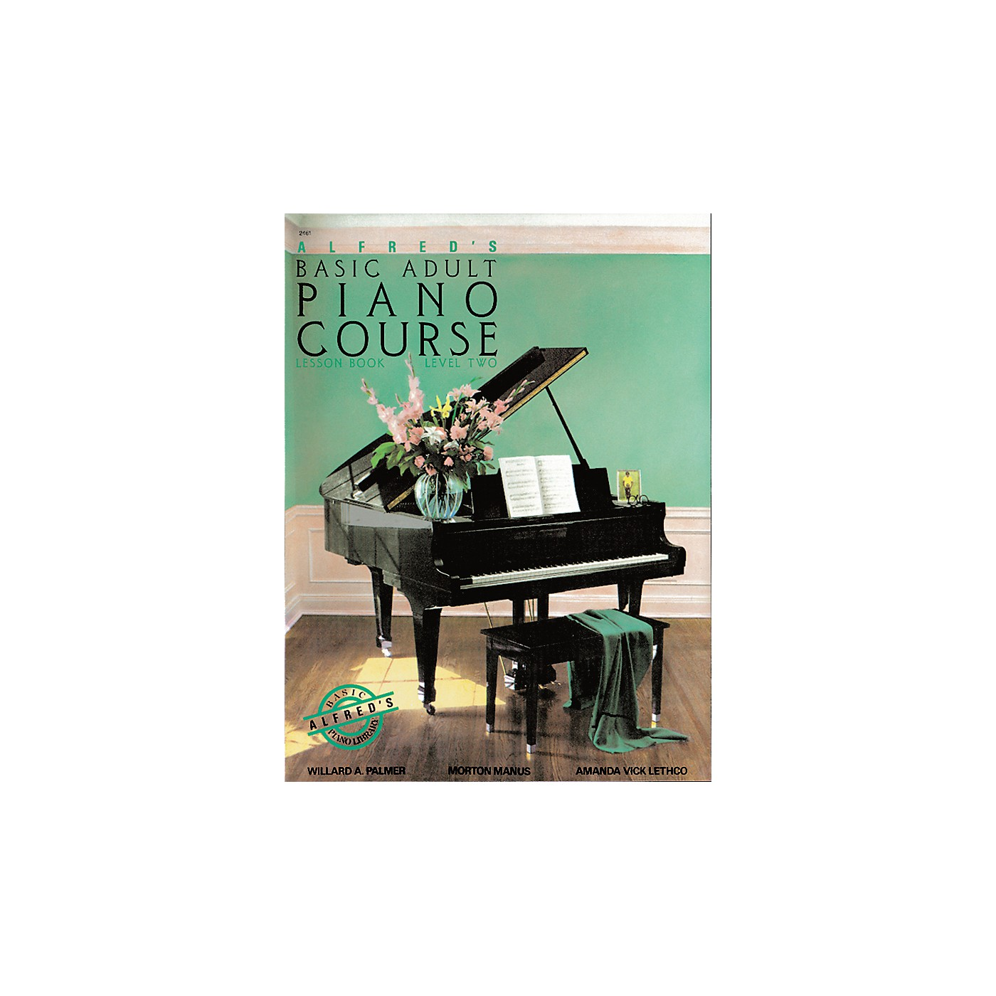 Alfred Alfred's Basic Adult Piano Course Lesson Book 2 thumbnail