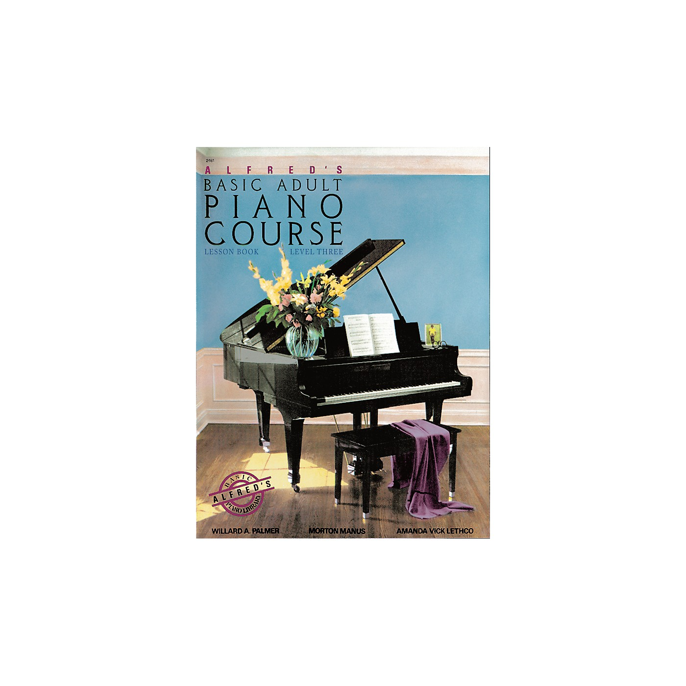 Alfred Alfred's Basic Adult Piano Course Lesson Book 3 thumbnail