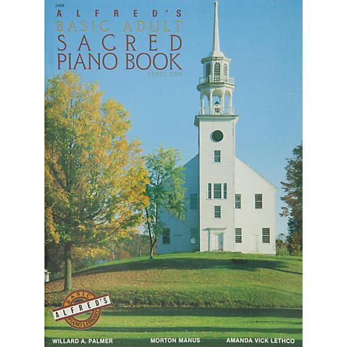 Alfred Alfred's Basic Adult Piano Course Sacred Book 1 thumbnail