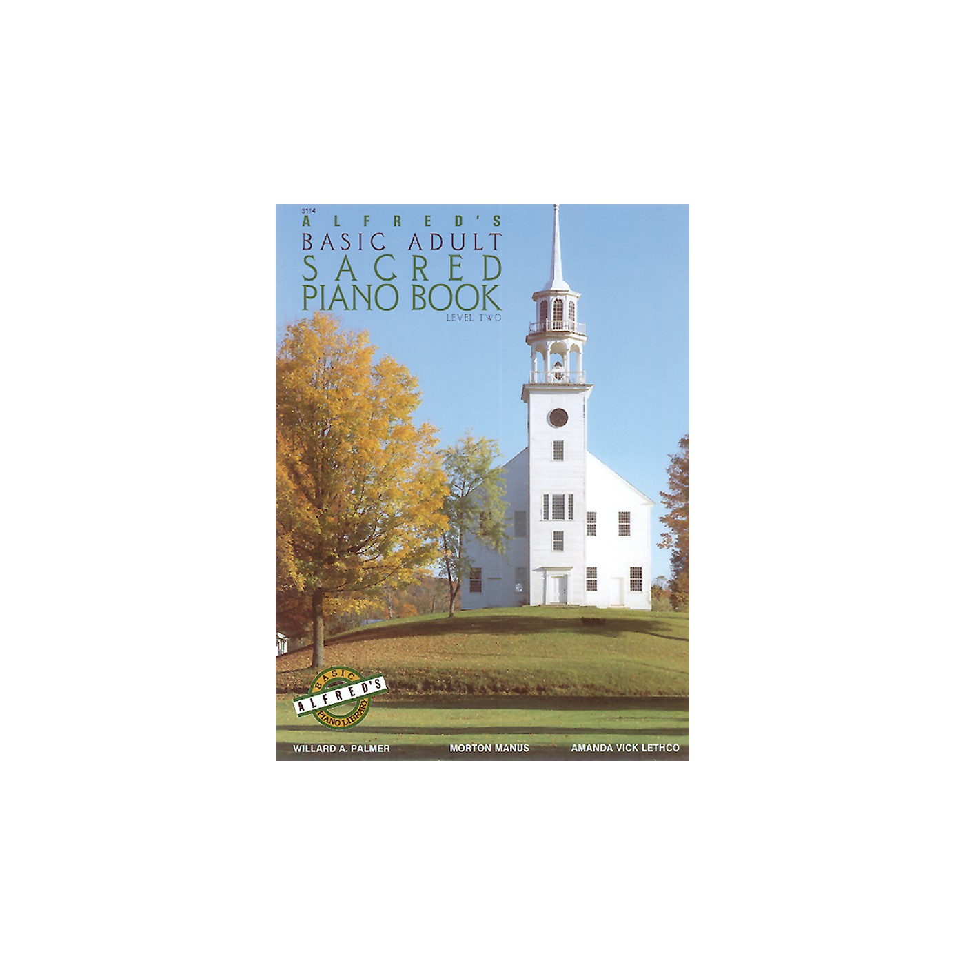 Alfred Alfred's Basic Adult Piano Course Sacred Book 2 thumbnail