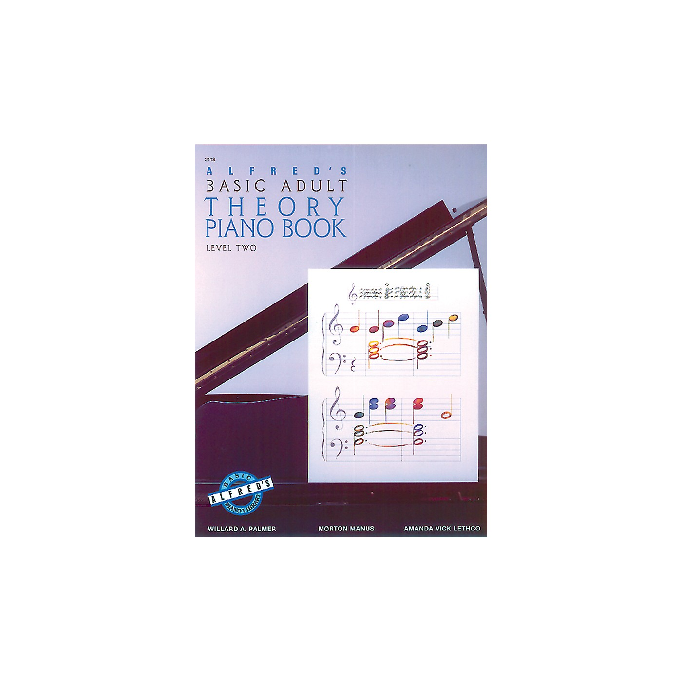 Alfred Alfred's Basic Adult Piano Course Theory Book 2 thumbnail