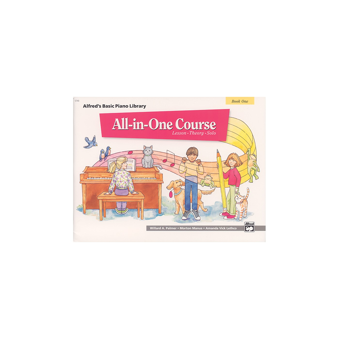 Alfred Alfred's Basic All-in-One Course Book 1 thumbnail