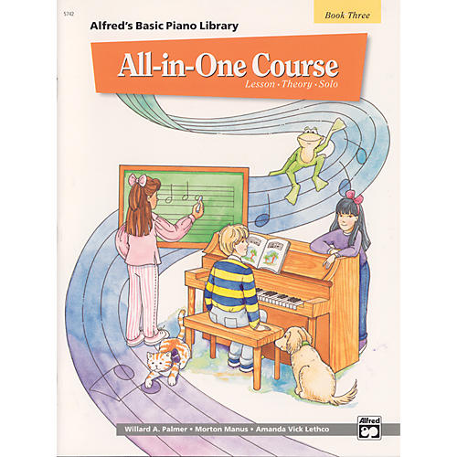 Alfred Alfred's Basic All-in-One Course Book 3-thumbnail