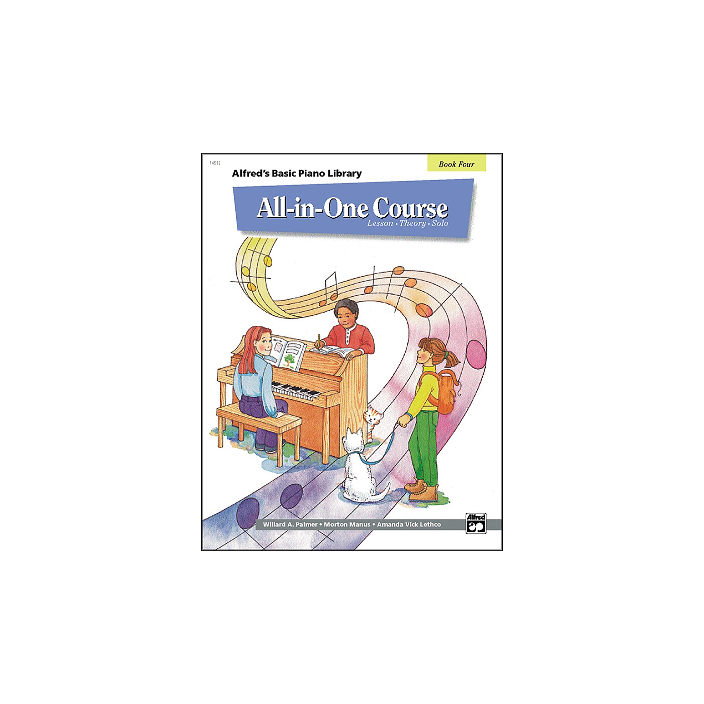 Alfred Alfred's Basic All-in-One Course for Children Book 4 thumbnail