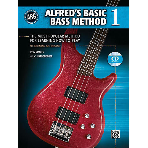 Alfred Alfred's Basic Bass Method Book & CD 1 thumbnail