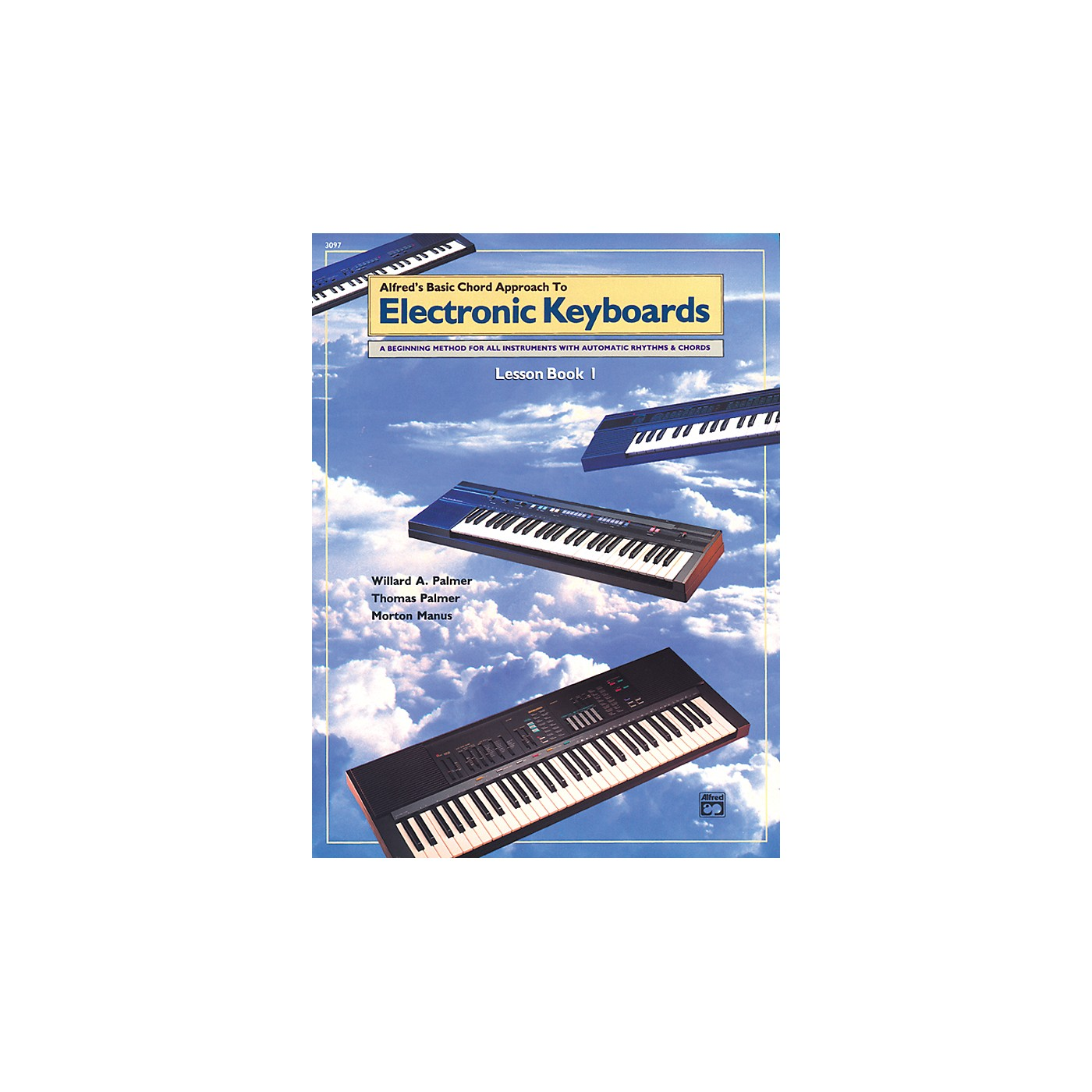 Alfred Alfred's Basic Chord Approach to Electronic Keyboards Lesson Book 1 thumbnail