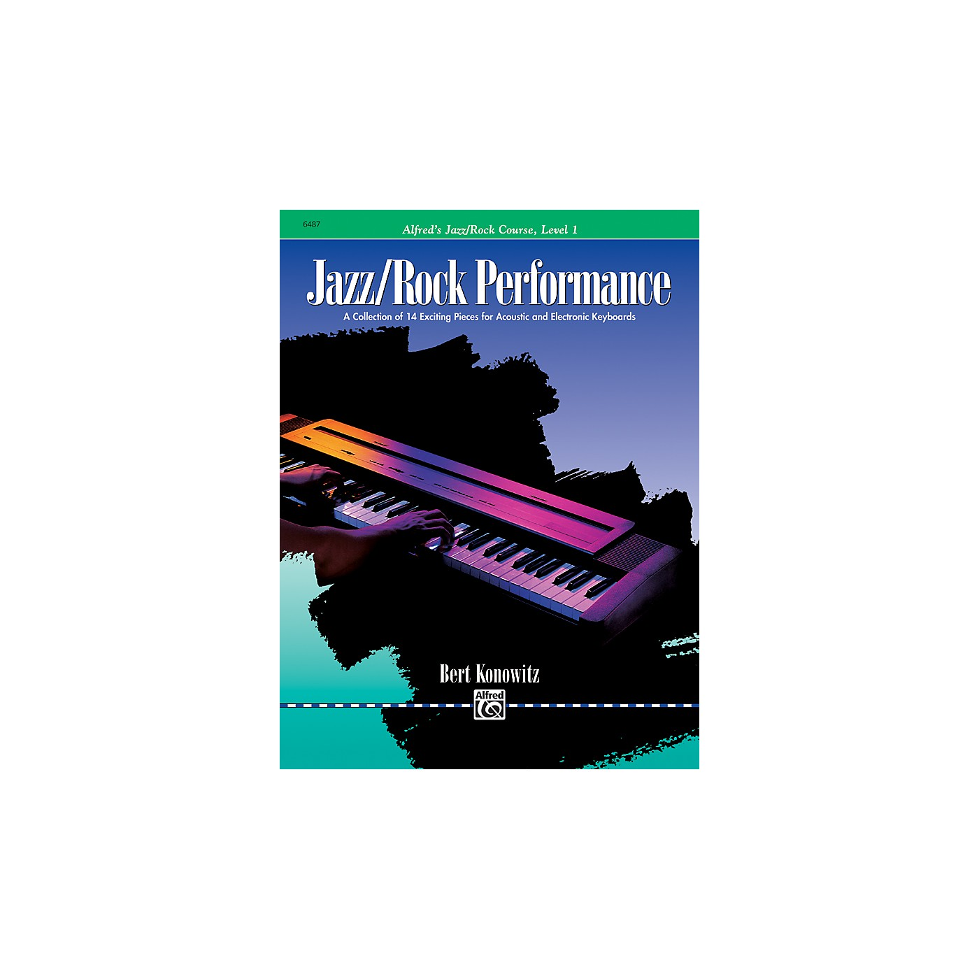 Alfred Alfred's Basic Jazz/Rock Course Performance Level 1 thumbnail
