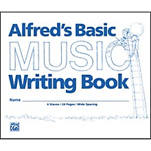 "Alfred Alfred's Basic Music Writing Book (8"" x 6"")"