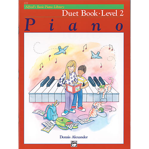 Alfred Alfred's Basic Piano Course Duet Book 2 thumbnail