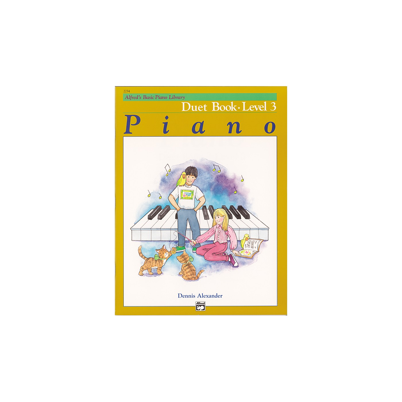 Alfred Alfred's Basic Piano Course Duet Book 3 thumbnail