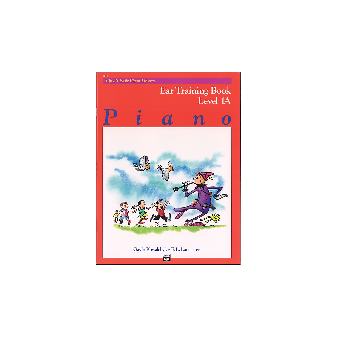 Alfred Alfred's Basic Piano Course Ear Training Book 1A thumbnail