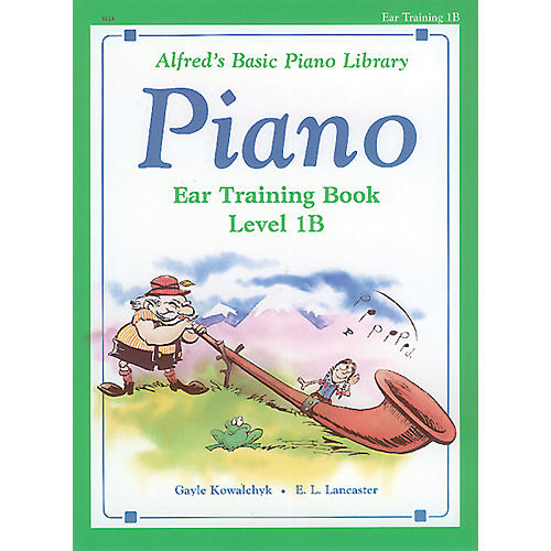 Alfred Alfred's Basic Piano Course Ear Training Book 1B thumbnail
