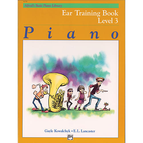 Alfred Alfred's Basic Piano Course Ear Training Book 3 thumbnail