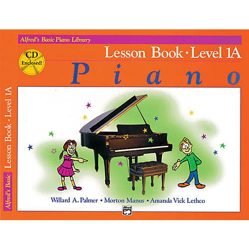 Alfred Alfred's Basic Piano Course Lesson Book 1A Book 1A & CD thumbnail