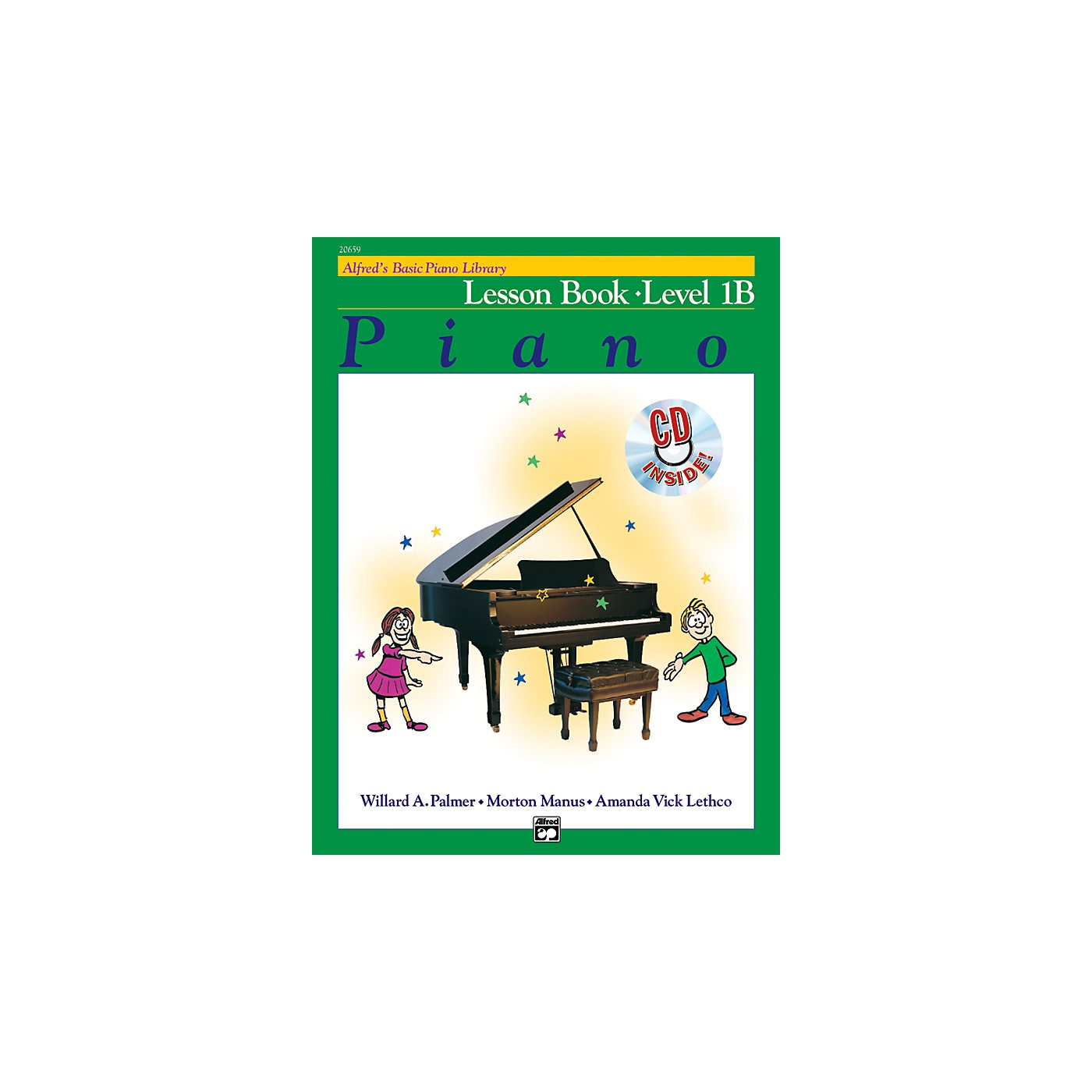 Alfred Alfred's Basic Piano Course Lesson Book 1B Book 1B & CD thumbnail