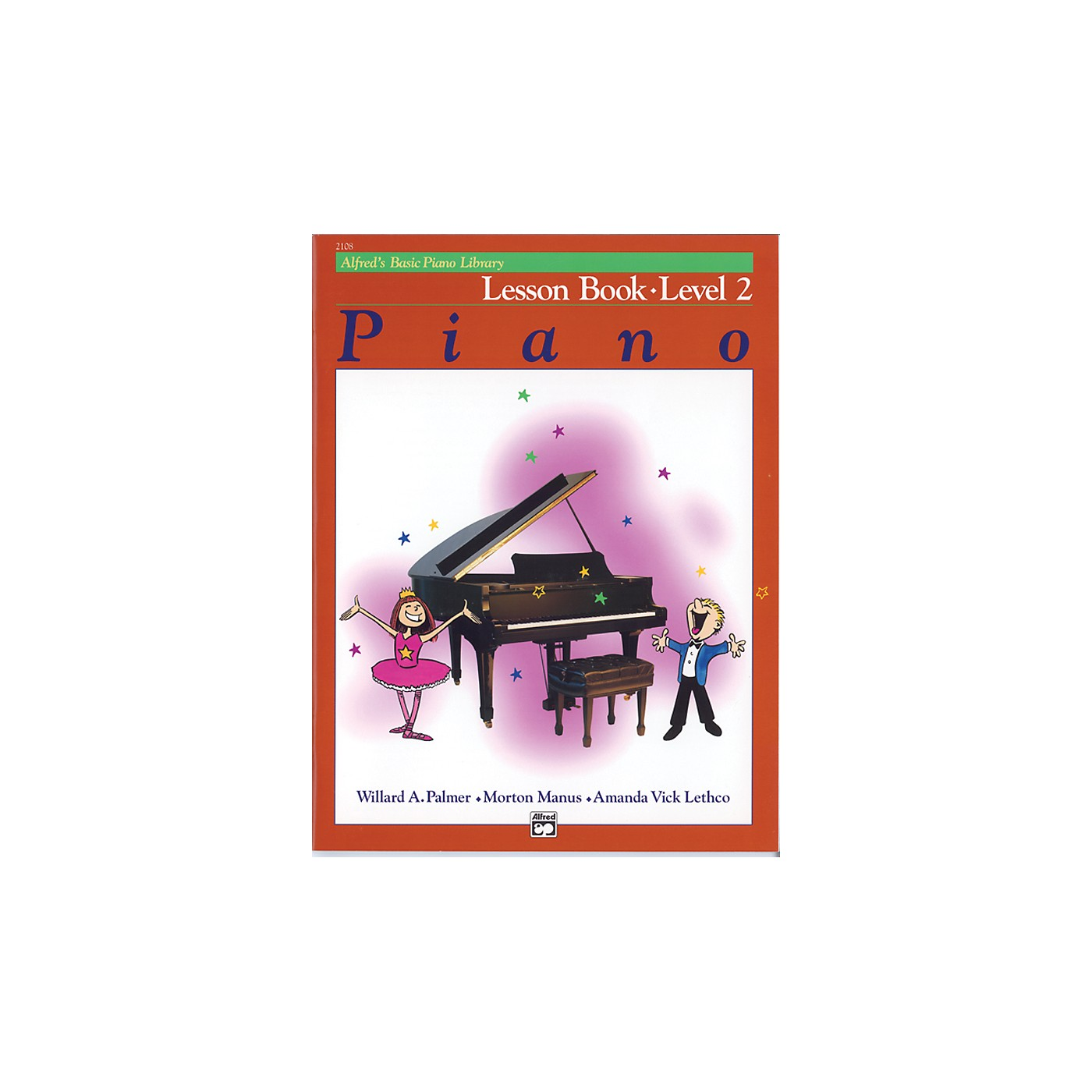 Alfred Alfred's Basic Piano Course Lesson Book Level 2 thumbnail