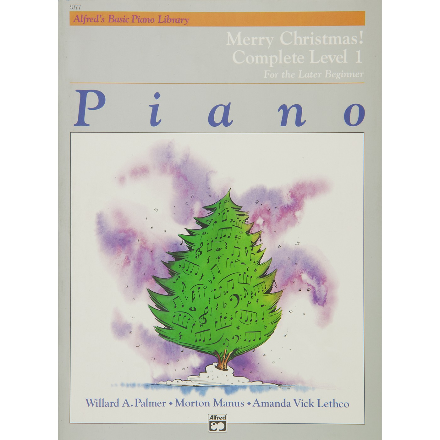 Alfred Alfred's Basic Piano Course Merry Christmas! Complete Book 1 (1A/1B) thumbnail
