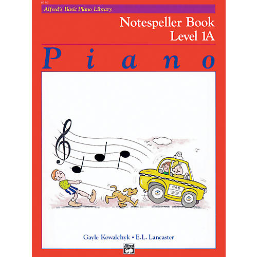 Alfred Alfred's Basic Piano Course Notespeller Book 1A thumbnail