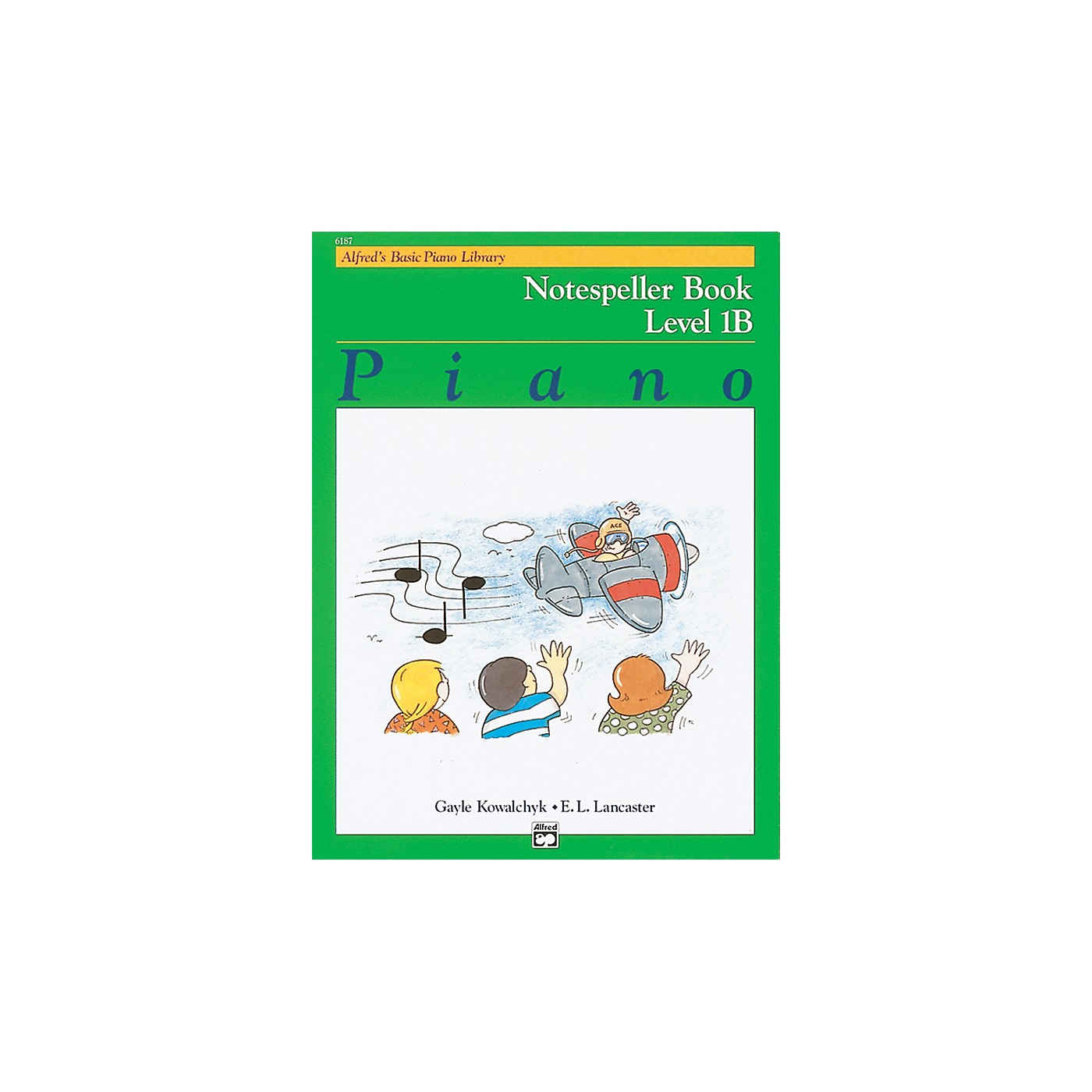 Alfred Alfred's Basic Piano Course Notespeller Book 1B thumbnail