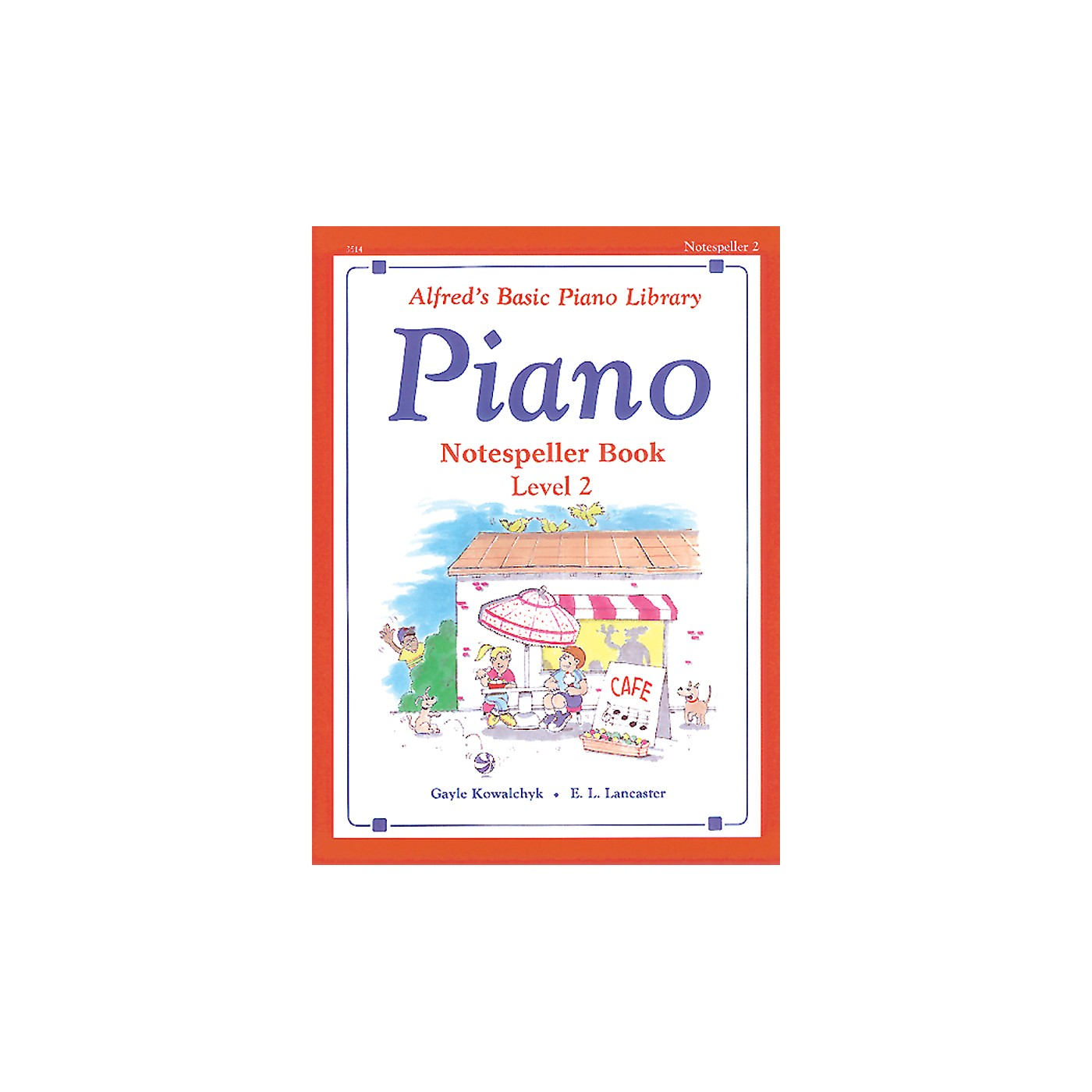Alfred Alfred's Basic Piano Course Notespeller Book 2 Book 2 thumbnail