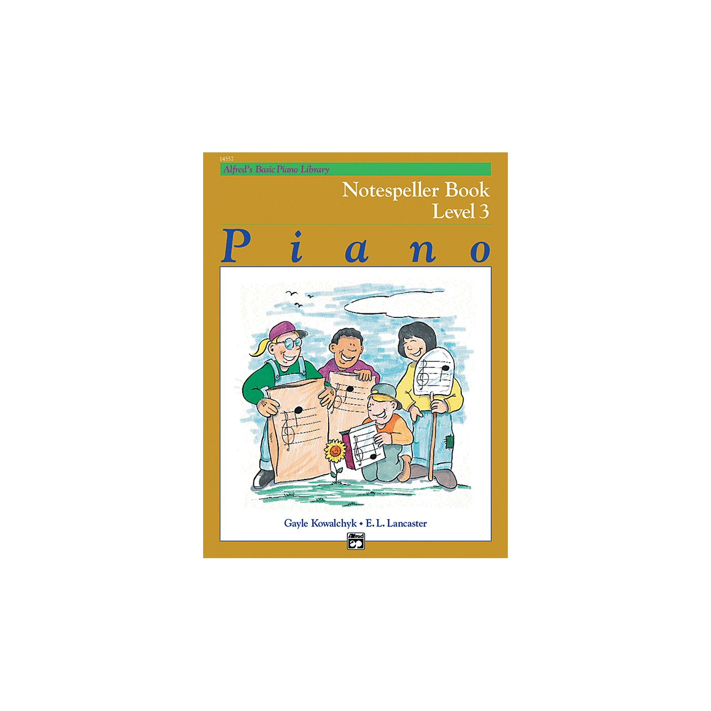 Alfred Alfred's Basic Piano Course Notespeller Book 3 thumbnail