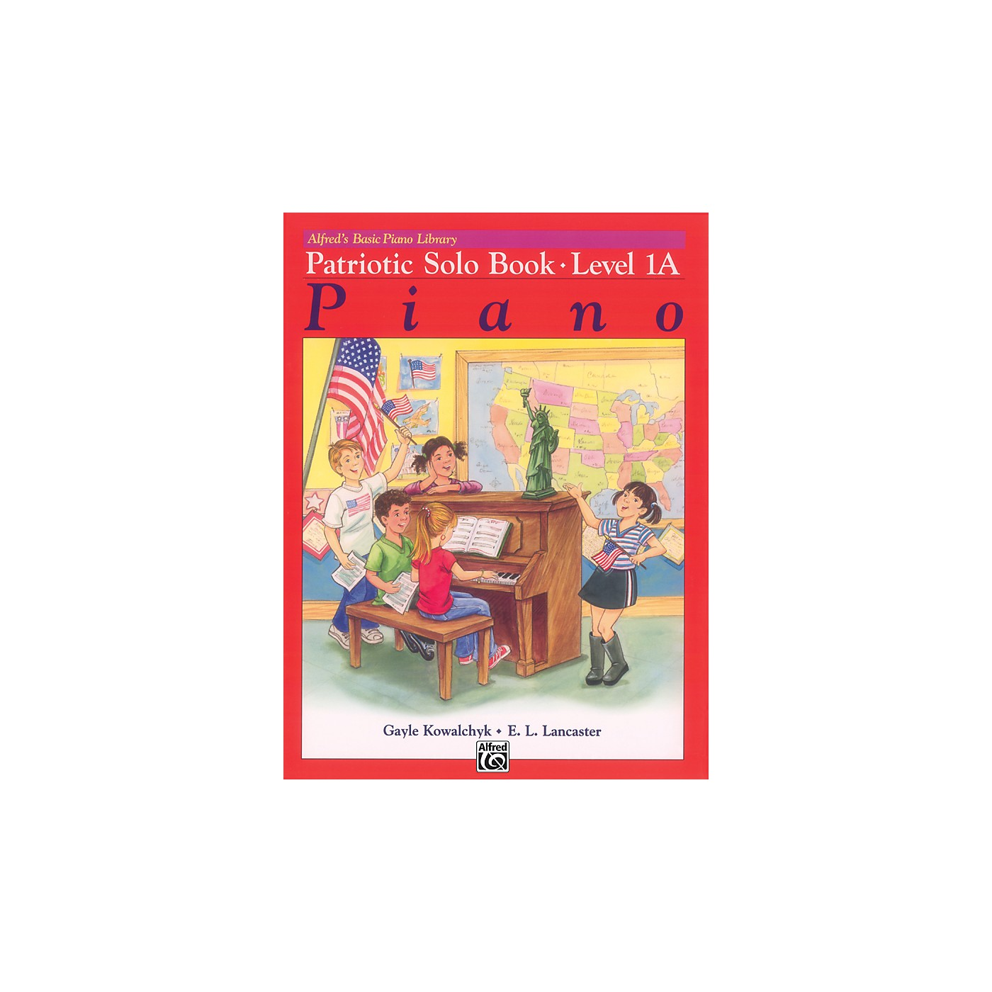 Alfred Alfred's Basic Piano Course Patriotic Solo Book 1A thumbnail