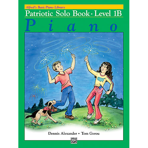 Alfred Alfred's Basic Piano Course Patriotic Solo Book 1B thumbnail