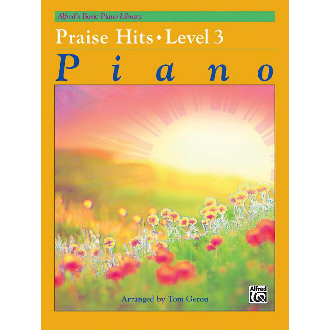 Alfred Alfred's Basic Piano Course Praise Hits Level 3 Book thumbnail