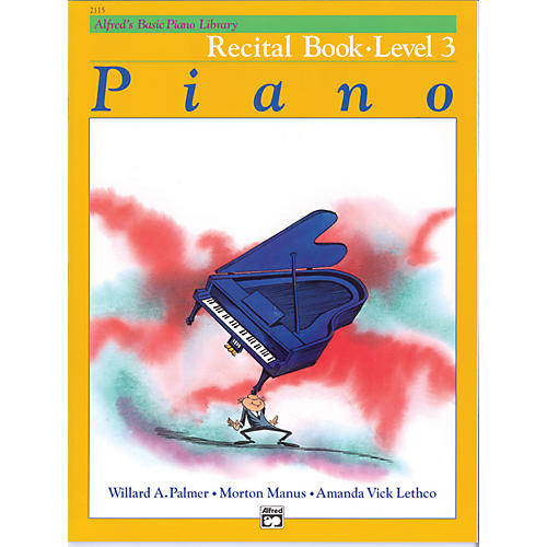 Alfred Alfred's Basic Piano Course Recital Book 3-thumbnail