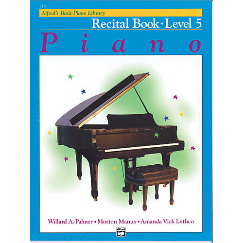 Alfred Alfred's Basic Piano Course Recital Book 5 thumbnail