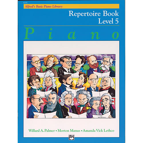 Alfred Alfred's Basic Piano Course Repertoire Book 5 thumbnail