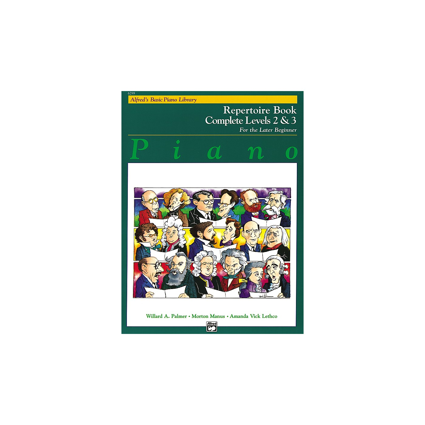 Alfred Alfred's Basic Piano Course Repertoire Book Complete 2 & 3 thumbnail