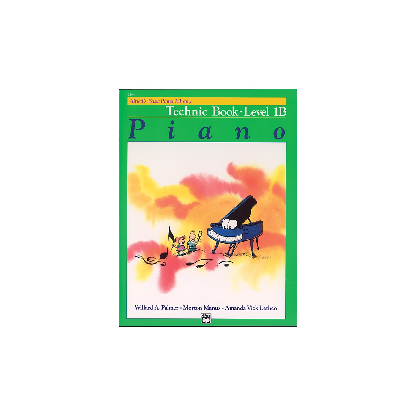 Alfred Alfred's Basic Piano Course Technic Book 1B thumbnail