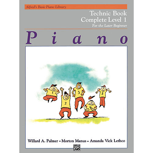 Alfred Alfred's Basic Piano Course Technique Book Complete 1 (1A/1B) thumbnail