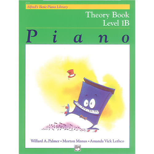 Alfred Alfred's Basic Piano Course Theory Book 1B thumbnail