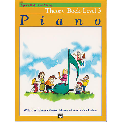 Alfred Alfred's Basic Piano Course Theory Book 3 thumbnail