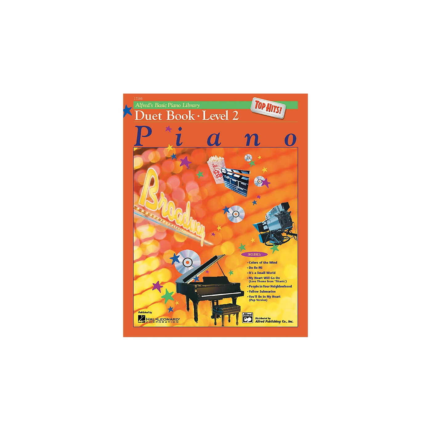 Alfred Alfred's Basic Piano Course Top Hits! Duet Book 2 Book 2 thumbnail