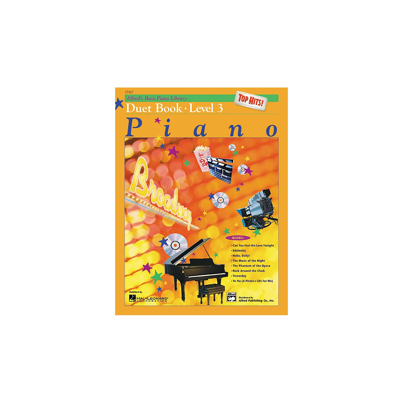 Alfred Alfred's Basic Piano Course Top Hits! Duet Book 3 thumbnail
