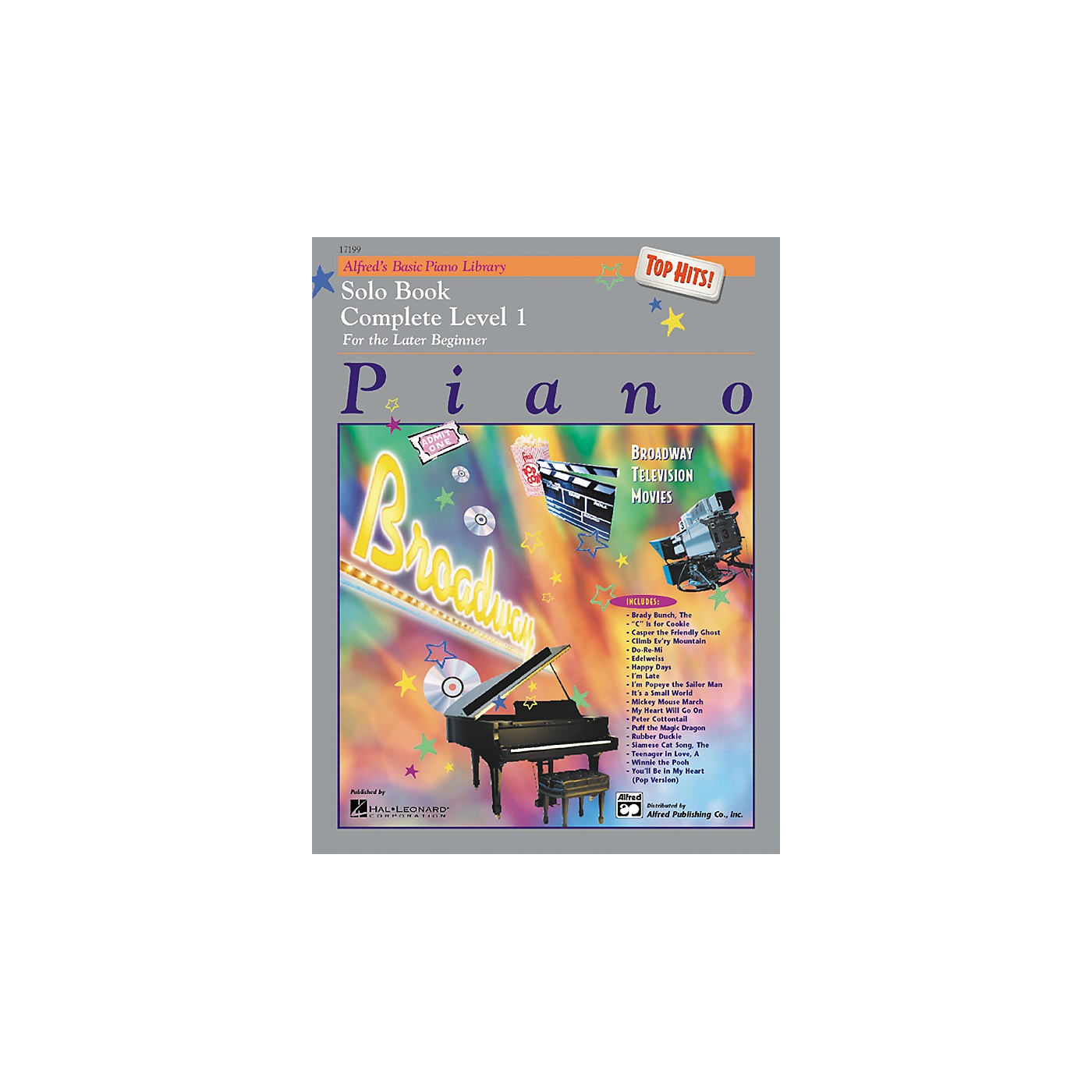 Alfred Alfred's Basic Piano Course Top Hits! Solo Book Complete 1 (1A/1B) thumbnail