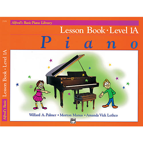 Alfred Alfred's Basic Piano Library Lesson Book Level 1A thumbnail