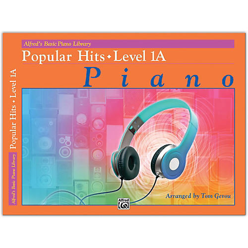 Alfred Alfred's Basic Piano Library: Popular Hits, Level 1A thumbnail