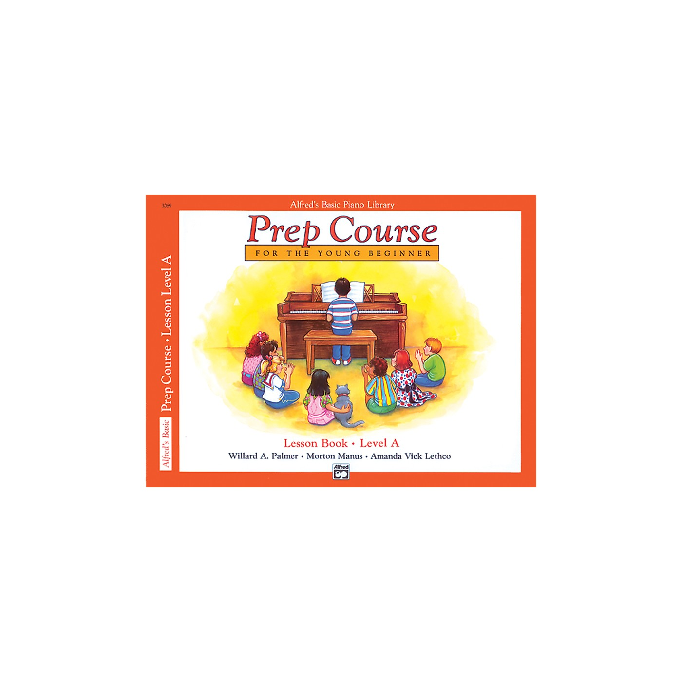 Alfred Alfred's Basic Piano Prep Course Lesson Book A thumbnail
